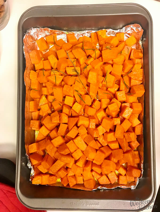 how to roast pumpkin in oven