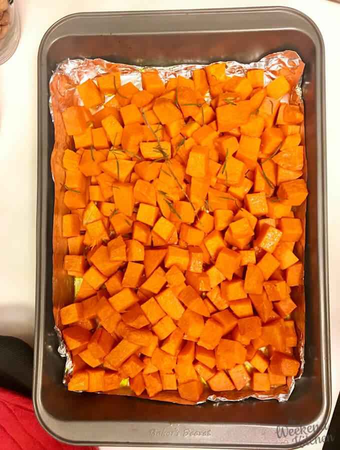 how to roast pumpkin in oven