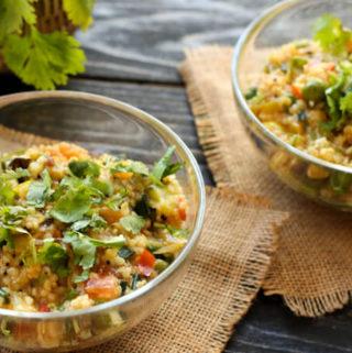 Jowar Upma   Sorghum porridge