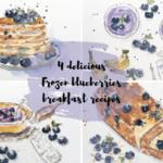 breakfast recipes with frozen blueberries