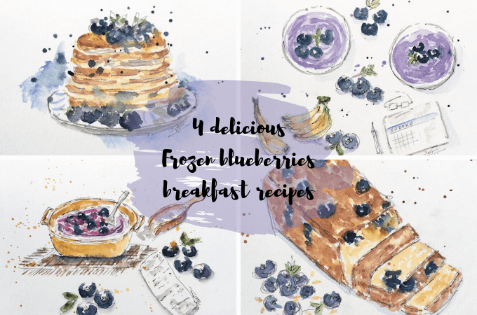 breakfast recipes with frozen blueberries