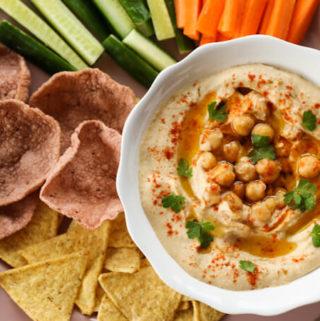 best homemade hummus recipe from scratch
