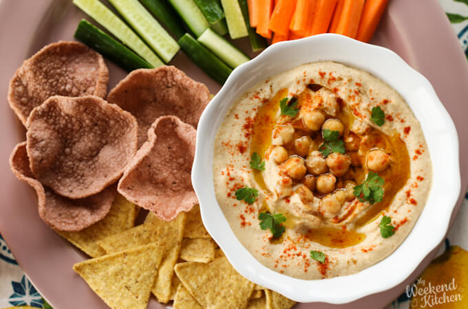 best homemade hummus recipe from scratch