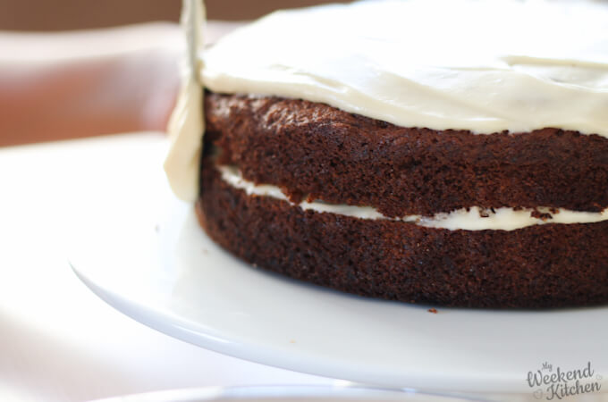 Whole wheat carrot cake recipe with frosting
