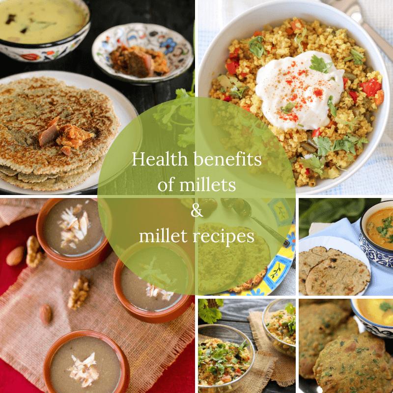 millet recipes, millet nutrition
