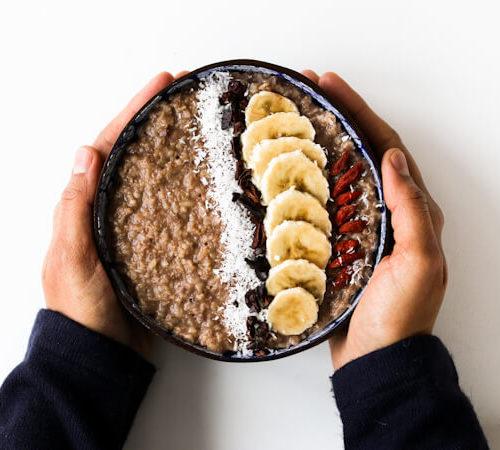 Banana Chocolate Oatmeal (Porridge) | My Weekend Kitchen