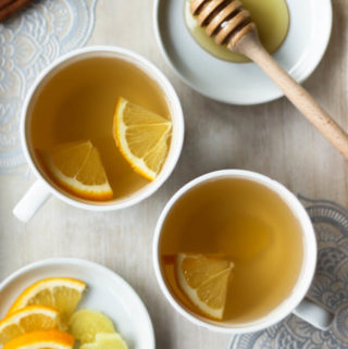 "Lemon and Ginger Tea | The ""Unchai"" tea"