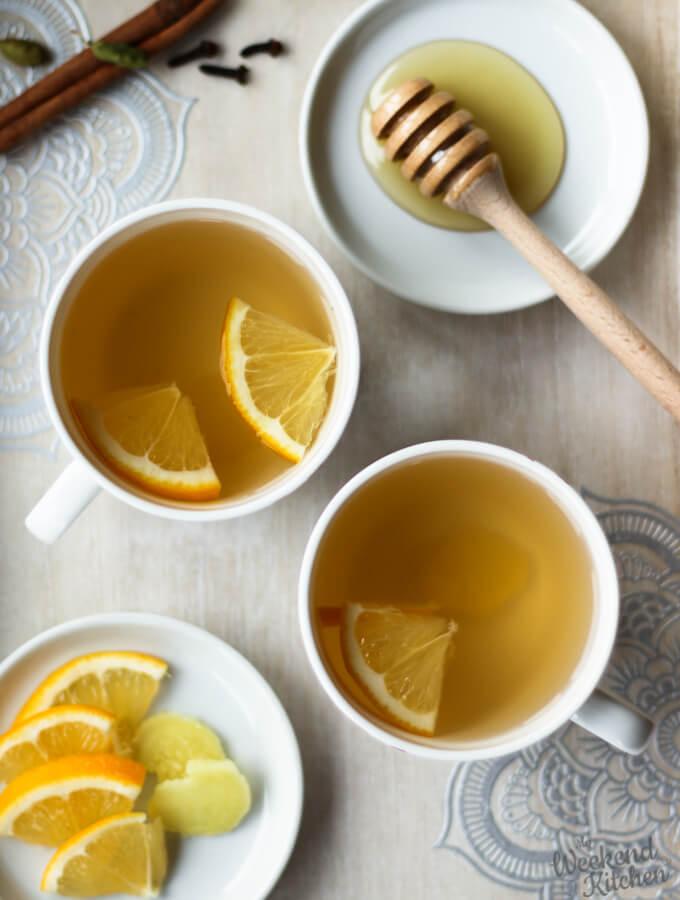 benefits of lemon and ginger tea, ginger root for tea