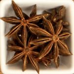 star anise, chakri phool, spices names in English and Hindi