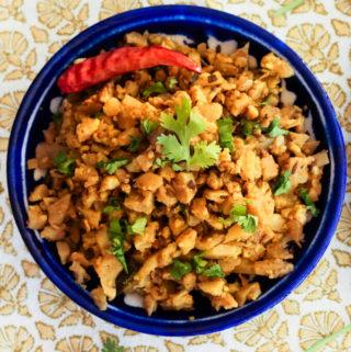 vegan cauliflower scramble, cauliflower recipes