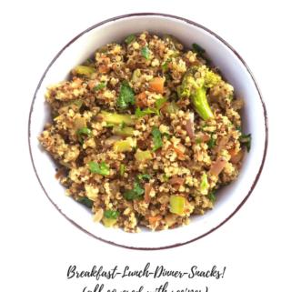 7-day vegan Meal Plan (Feb)