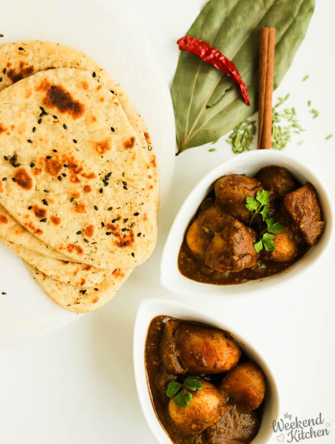 Kashmiri dum aloo recipe, vegan indian recipes