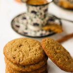 almond and oatmeal cookies gluten-free and eggless
