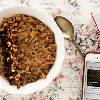 Hazelnut Chocolate Oatmeal (Porridge)