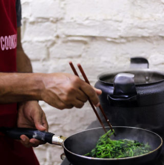 water spinach stir fry recipe