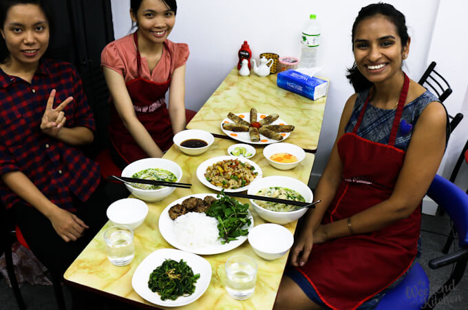 Cooking classes in Vietnam