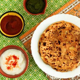 aloo paratha step-by-step recipe