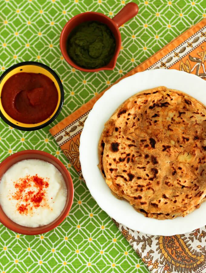 aloo paratha recipe step by step, how to make stuffed Indian flatbread
