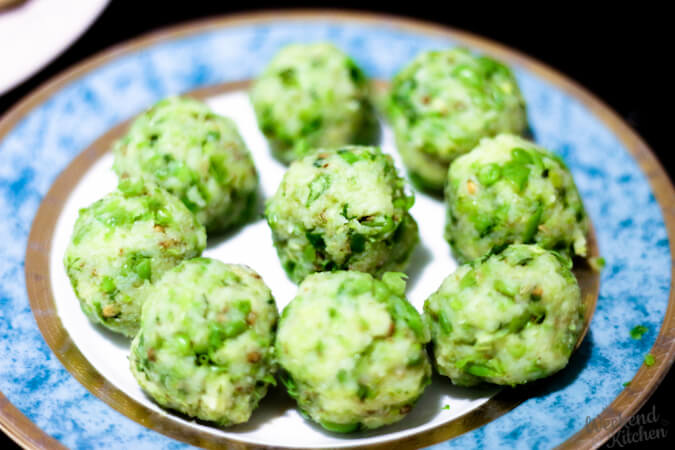 Potato and peas stuffing for aloo paratha