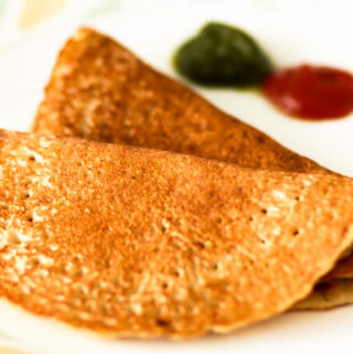 moong dal chilla, vegan lentil pancake, vegetarian omelet