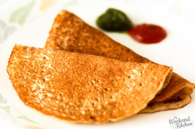 moong dal chilla, vegan omelet, vegetarian pancake