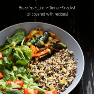 benefits of meal planning, weekly vegetarian meal plan