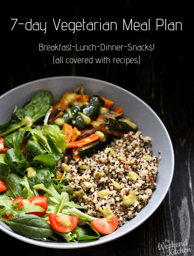 weekly meal plan, vegetarian meal plan, benefits of meal planning