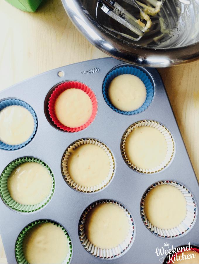 lemon cupcake recipes, basic cupcakes