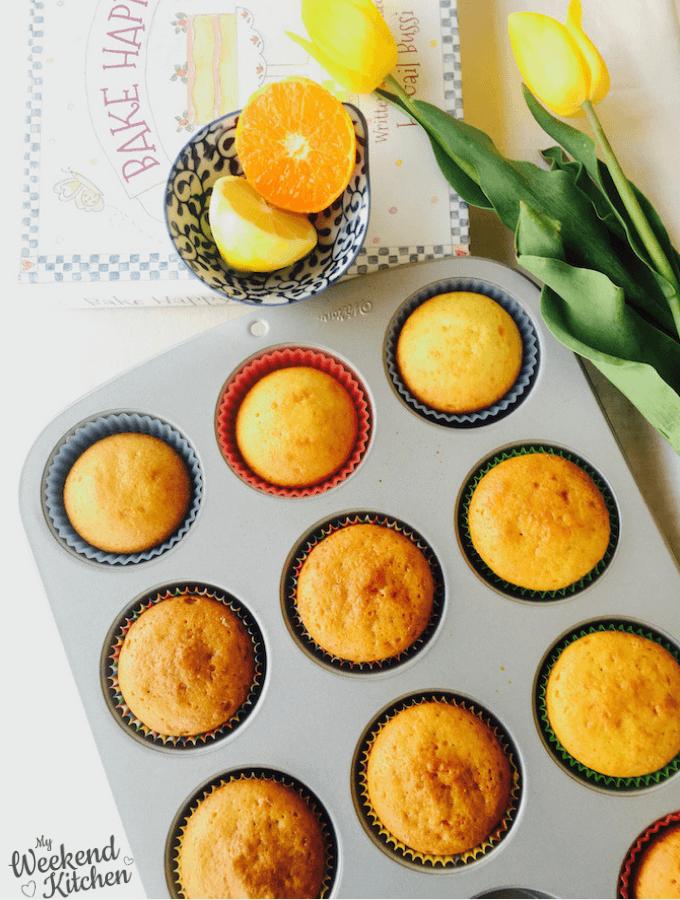 orange and lemon cupcakes recipe, basic cupcakes