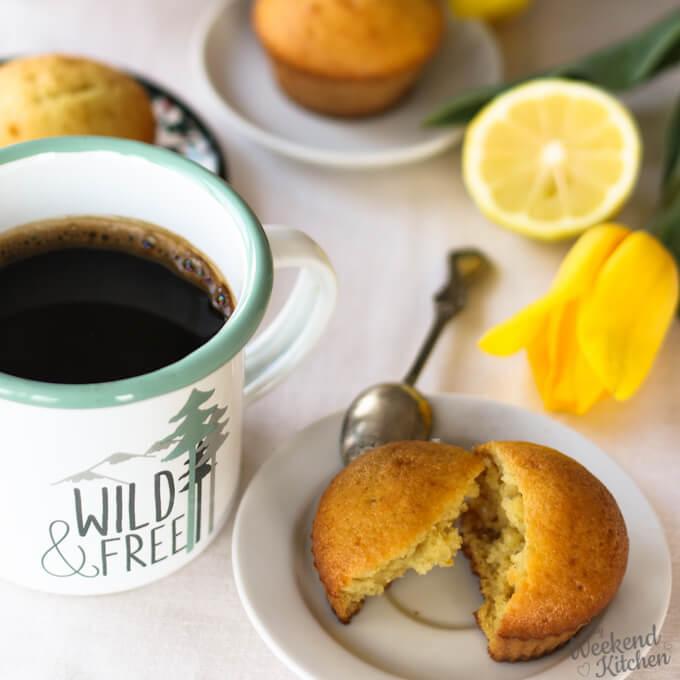 Simple Tea time cakes ideas, lemon cupcakes