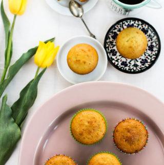 simple lemon cupcakes recipe, orange and lemon cupcake