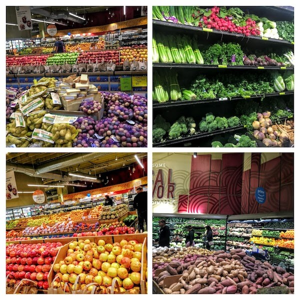 Large choice of fruits and vegetables in supermarkets - why you need a meal plan