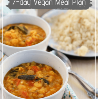 7 day Vegan Meal Plan and updates – June 2019