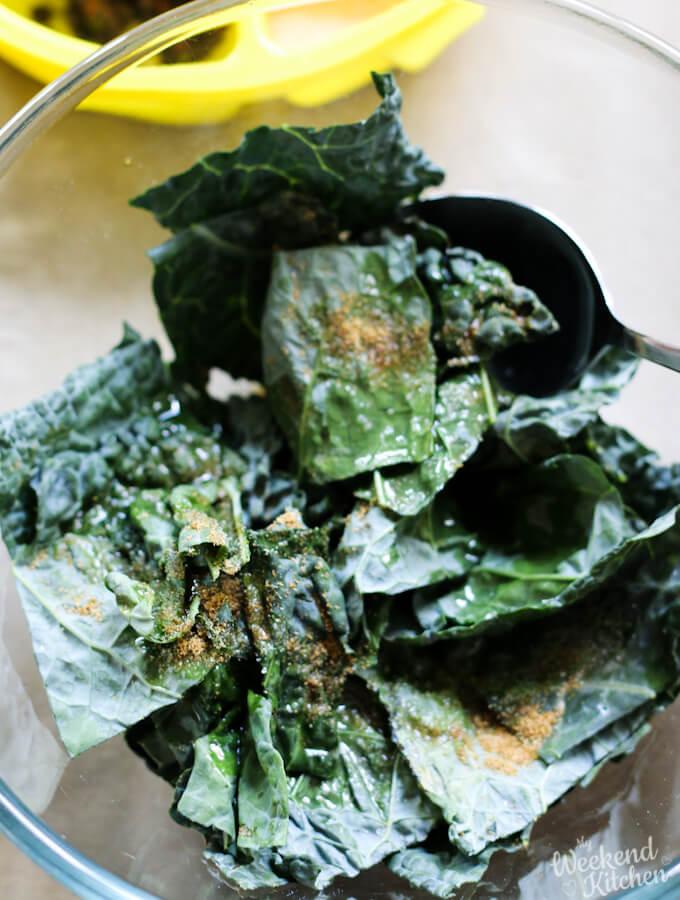 kale chips seasoning