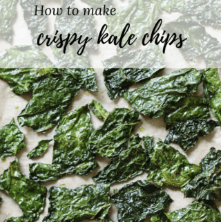 How to make Crispy Kale Chips in oven