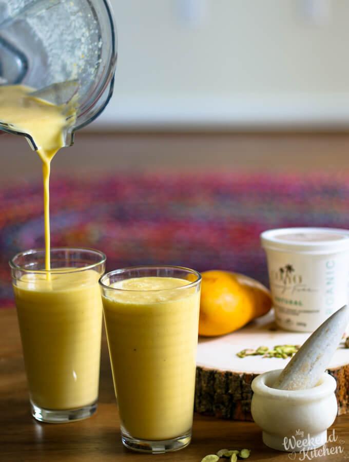 Vegan Mango lassi recipe