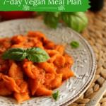 vegan meal plan, vegetarian meal plan