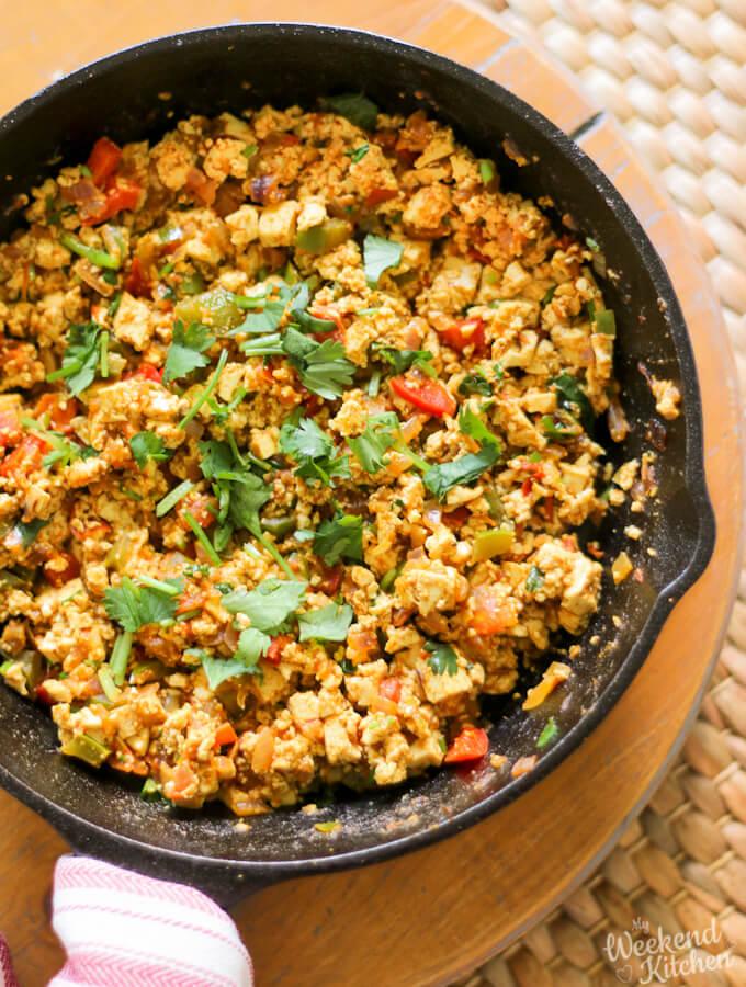 vegan tofu scramble, tofu recipes