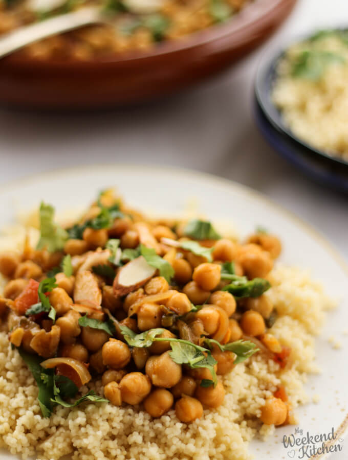 Moroccan tagine recipe, vegetarian tagine recipe with couscous