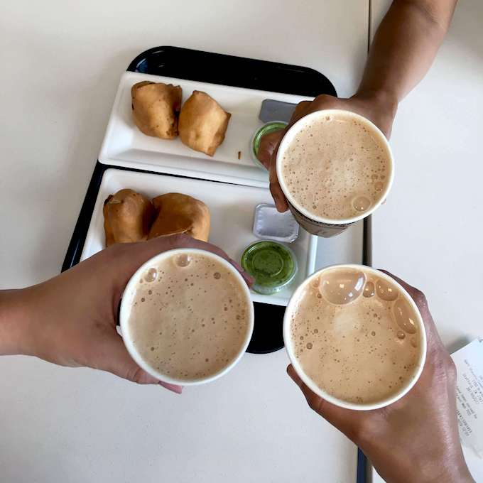 Connecting over a cup of chai