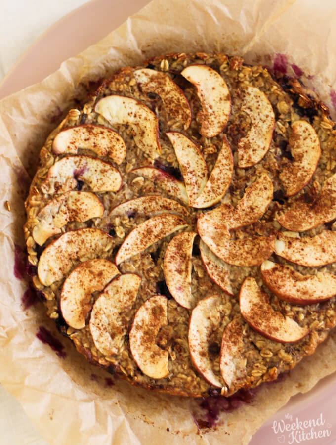 Vegan and gluten free baked oatmeal recipe