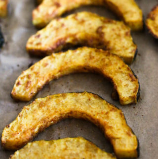 oven roasted acorn squash recipe