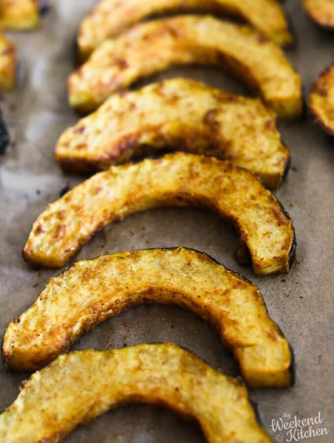 oven-roasted acorn squash recipe