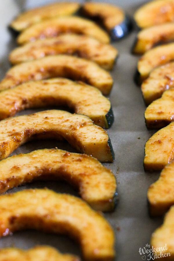 Oven roasted acorn squash recipe for fall
