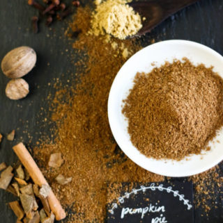what spices are in pumpkin pie spice