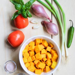 Pumpkin Pasta Sauce – Vegan & GF