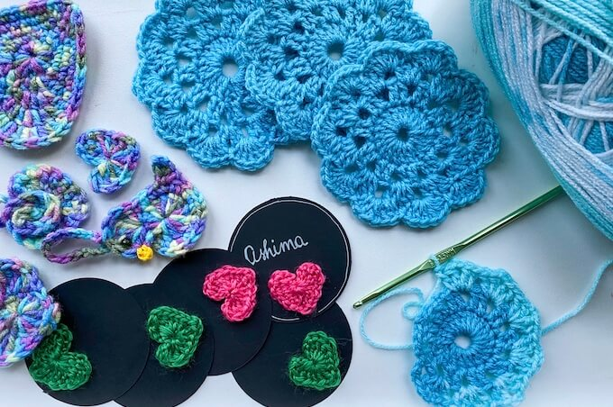 learn a new art! easy crochet ideas for home