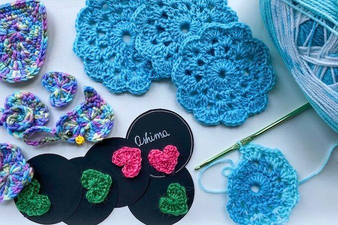 learn a new art! easy crochet ideas for home