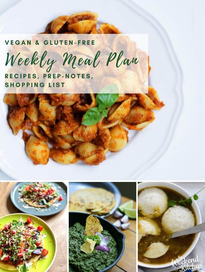 weekly vegan meal plan, healthy meal planning ideas for the family