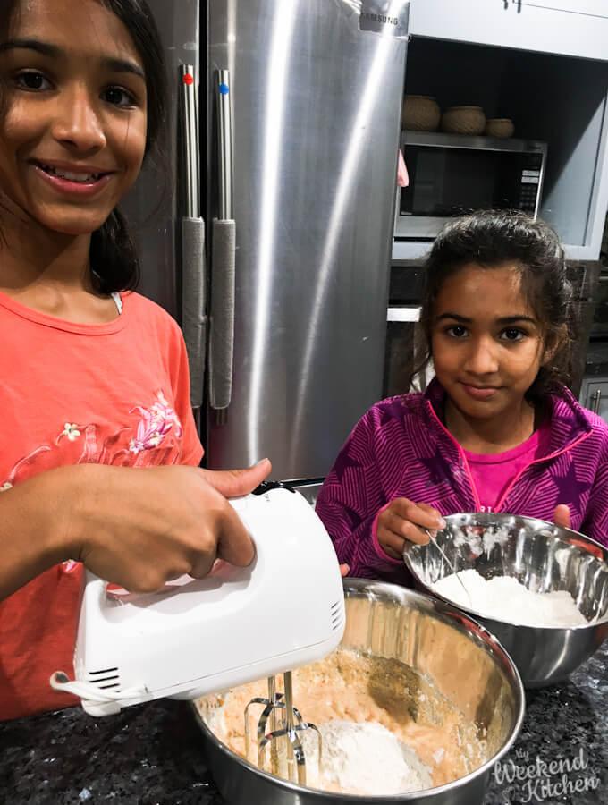 fun baking with kids recipe, baking cookies with kids
